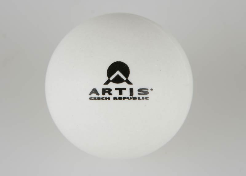 Míček na stolní tenis ARTIS HOBBY - bílý