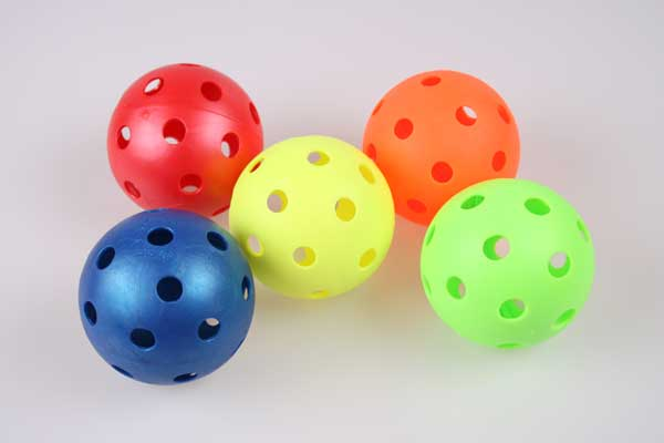 Florbalový míč Unihoc - barevný