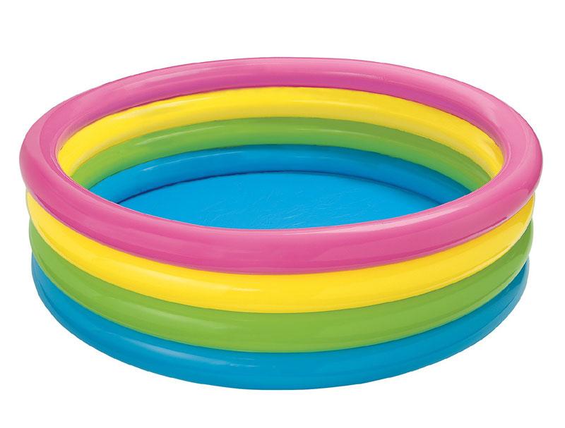 Bazén Intex SUNSET GLOW POOL 168 cm