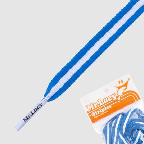 Mr.Lacy Stripies - modro-bílá